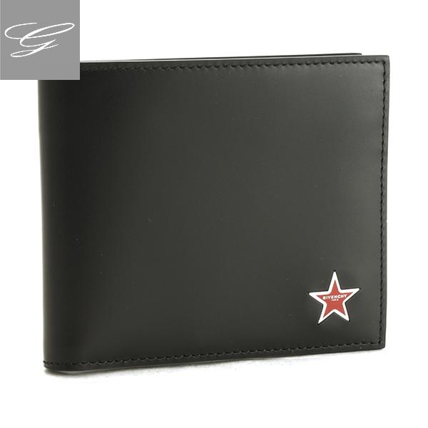 【20SS SALE】ジバンシー 二つ折り財布 GIVENCHY 財布 メンズ ラムスキン ブラック BK6005K-031-001【2009RSS】