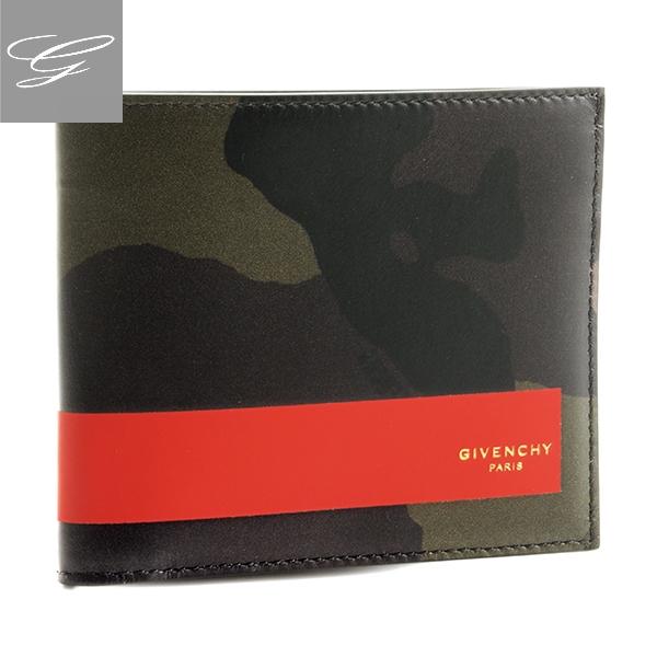【20SS SALE】ジバンシー 二つ折り財布 GIVENCHY 財布 メンズ カーフスキン ミリタリー BK6005K-032-960【2009RSS】