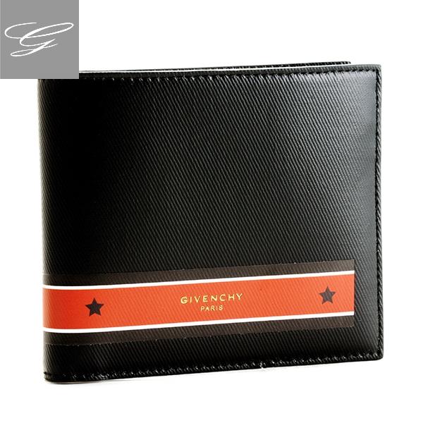 【20SS SALE】ジバンシー 二つ折り財布 GIVENCHY 財布 メンズ ポリウレタン ブラック×レッド BK6005K-03P-009【2009RSS】
