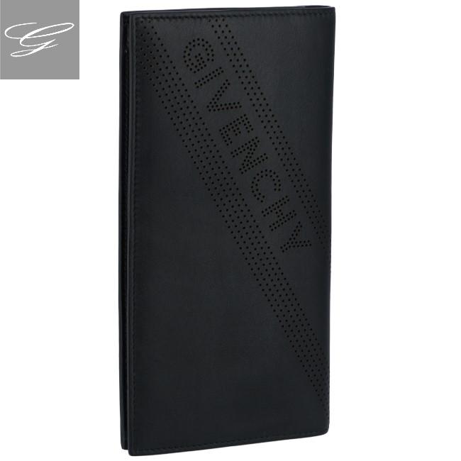 ジバンシー/GIVENCHY 財布 メンズ SLG PERFORATED 2つ折り財布 BLACK 2019年春夏新作 BK600KK-0GK-001