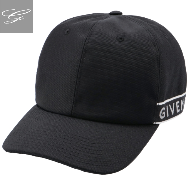 ジバンシー/GIVENCHY 帽子 メンズ キャップ BLACK/WHITE 2020年秋冬新作 BPZ003P-00P-004