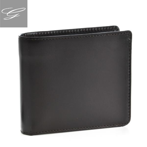 グレンロイヤル 2つ折り財布 GLENROYAL 財布 メンズ ブライドルレザー ダークブラウン 034128-0001-0001