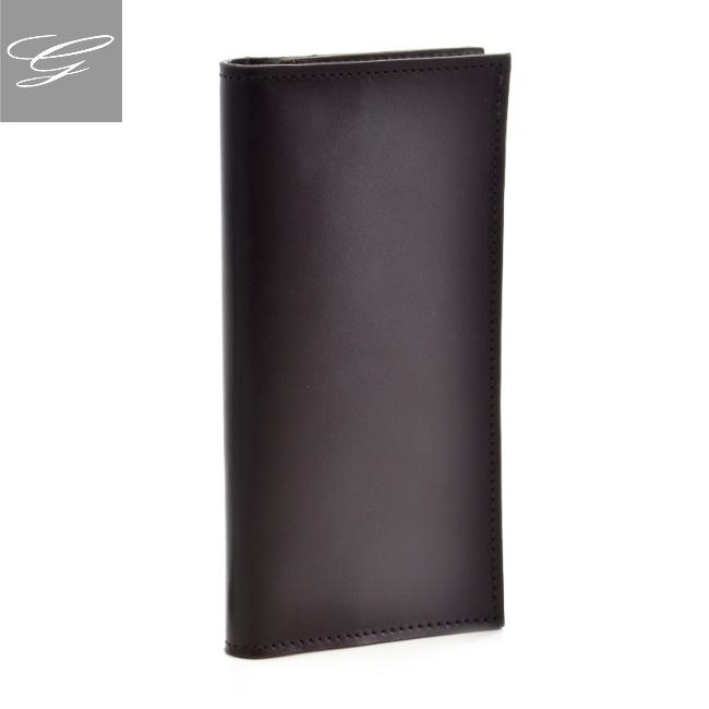 グレンロイヤル 二つ折り長財布 GLENROYAL 財布 メンズ ブライドルレザー ダークブラウン 035594-0001-0001 2020年秋冬