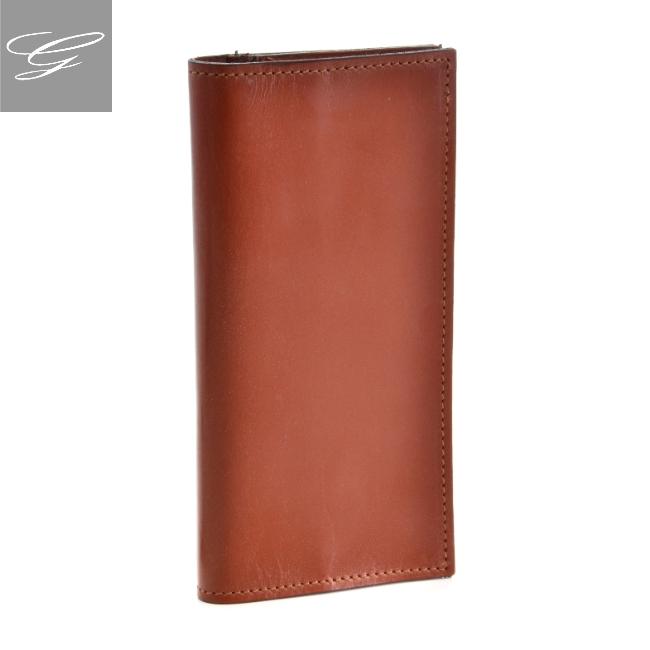 グレンロイヤル 2つ折り長財布 GLENROYAL 財布 メンズ ブライドルレザー ブラウン 035594-0001-0004