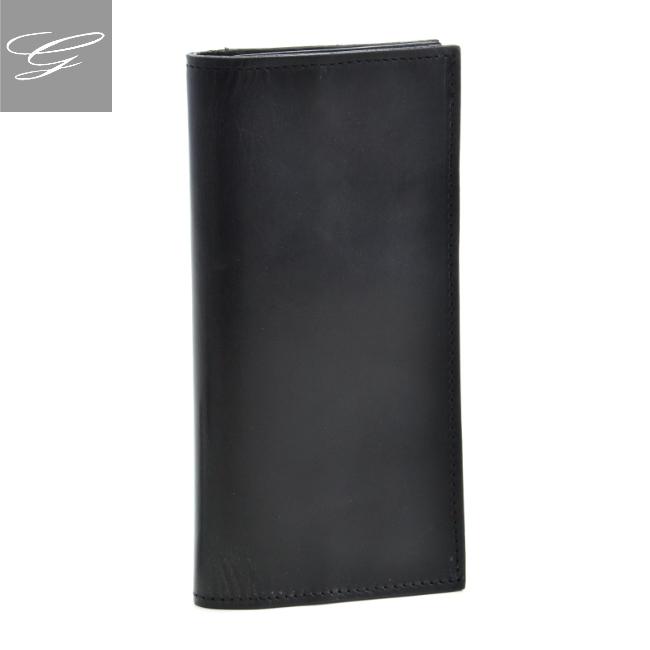 グレンロイヤル 二つ折り長財布 GLENROYAL 財布 メンズ ブライドルレザー ブラック 035605-0001-0002 2020年秋冬