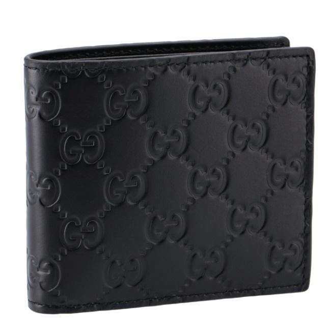 グッチ/GUCCI 財布 メンズ AVEL 二つ折り財布 NERO/NERO 2020年秋冬 365467-CWC1R-1000
