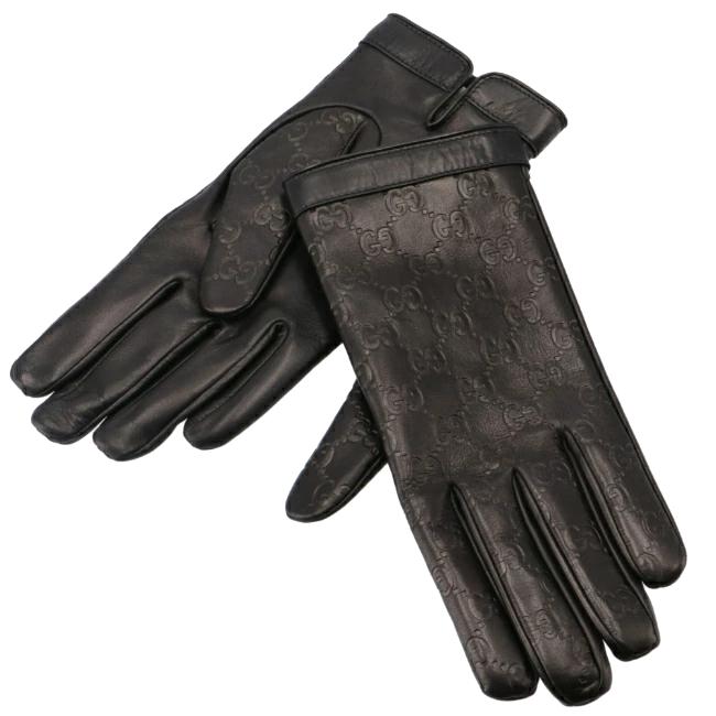 グッチ/GUCCI グローブ メンズ 手袋 NERO 2020年秋冬新作 434211-B6500-1000
