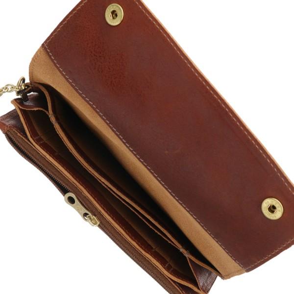 イルビゾンテ 2つ折り長財布 IL BISONTE 財布 メンズ CLASSIC COGNAC C0486 PO 566A4j3RL5