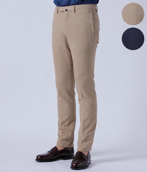 インコテックス/INCOTEX パンツ メンズ SKIN FIT コットンスキニーパンツ BLUE 2018年秋冬新作 1AGW82-40538