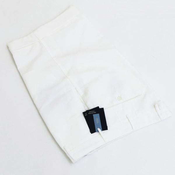インコテックス/INCOTEX パンツ メンズ ショートパンツ WHITE 2018年春夏 1AW138-9189R-001