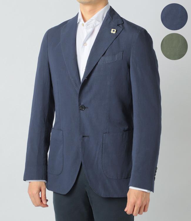 ラルディーニ/LARDINI ジャケット メンズ DYED テーラードジャケット 2019年春夏新作 EG0319AV-52203