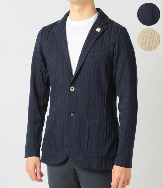 ラルディーニ/LARDINI ジャケット メンズ ニットジャケット 2019年春夏新作 EGLJM56-52002