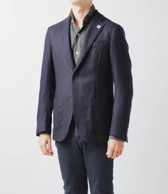 【2019AW SALE】ラルディーニ/LARDINI ジャケット メンズ EASY WEAR/パッカブル テーラードジャケット IL939AV-53711