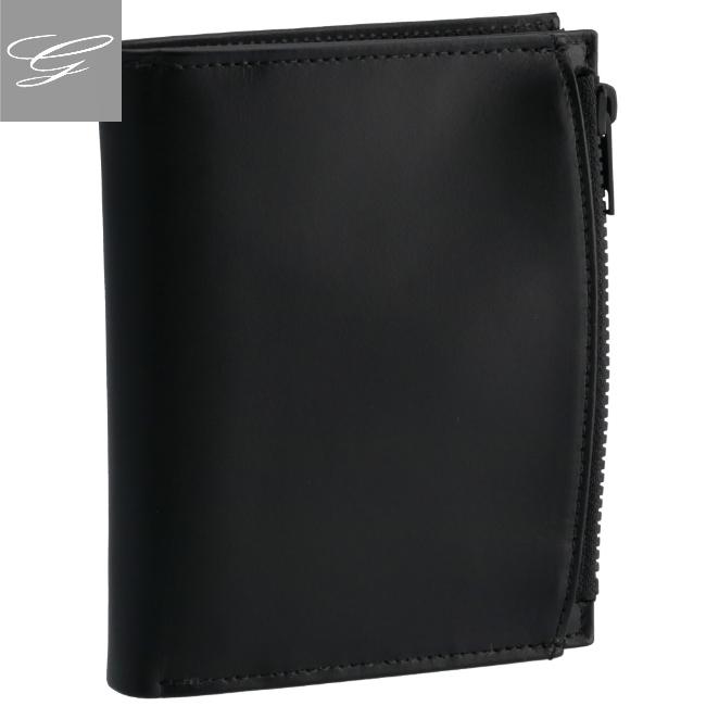 MAISON MARGIELA/メゾン マルジェラ 財布 メンズ カーフスキン 二つ折り財布 BLACK 2020年秋冬新作 S35UI0437-PS935-T8013