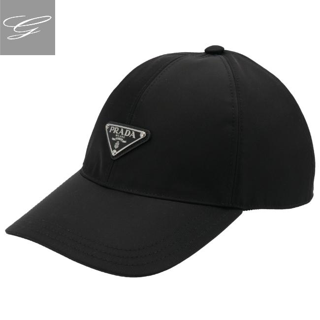 プラダ/PRADA 帽子 メンズ キャップ NERO 2020年秋冬新作 2HC231-2B15-002