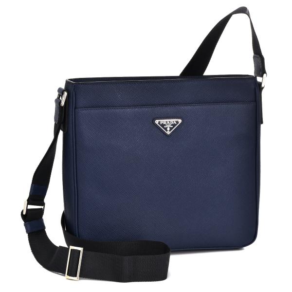 ebc28d0c5c ... canada prada shoulder bag prada bag mens safianokeal navy blue 2015  autumn winter new 2vh086 2fad