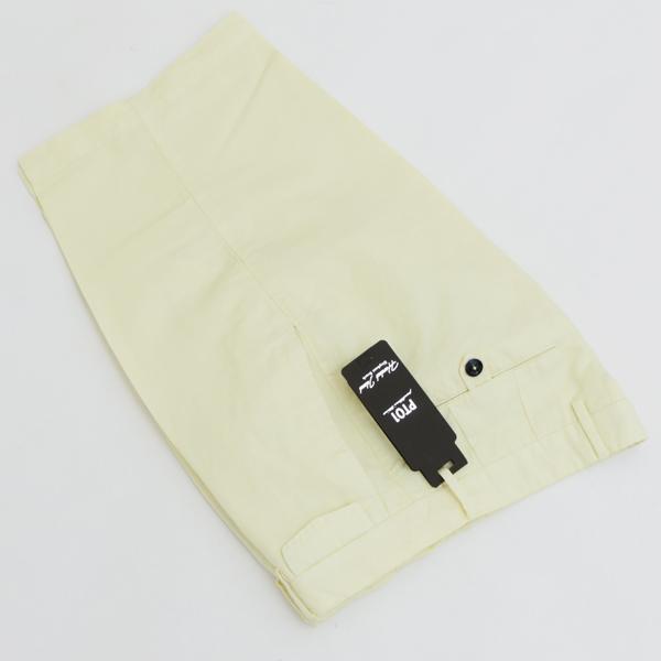 ピーティーゼロウーノ/PT01 パンツ メンズ BERMUDA ショートパンツ YELLOW 2018年春夏 CBBTKC-PU15-0802