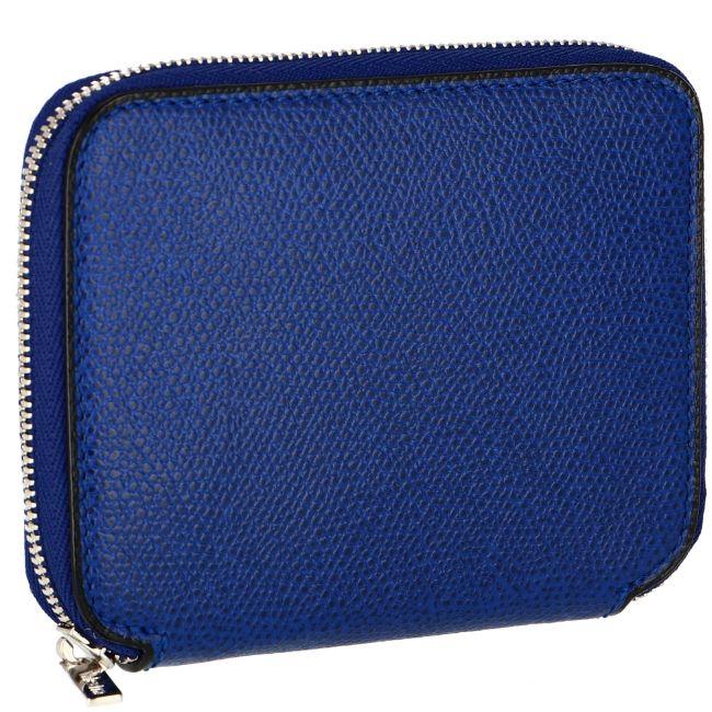 ヴァレクストラ/VALEXTRA 財布 メンズ グレインレザー 二つ折り財布 ROYAL BLUE V8L34-028-00RORL 2020年秋冬