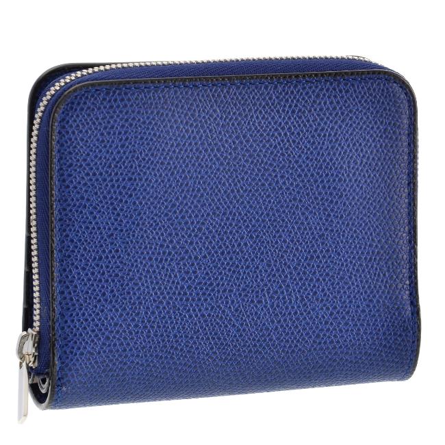 ヴァレクストラ/VALEXTRA 財布 メンズ グレインレザー 2つ折り財布 ROYAL BLUE 2019年春夏新作 V8L38-028-00RORL