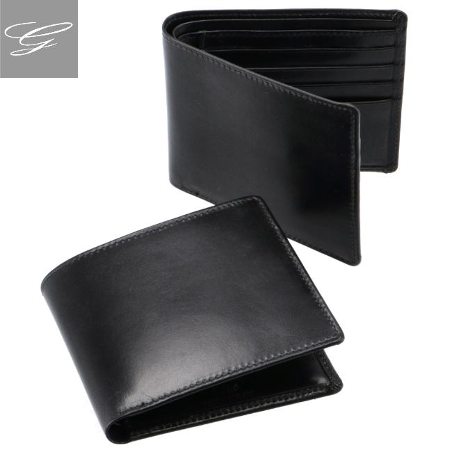 ホワイトハウスコックス/WHITEHOUSE COX 財布 メンズ ブライドルレザー 二つ折り財布 BLACK 2020年秋冬新作 S2377-SC-0001