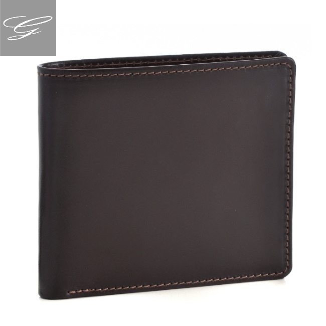 ホワイトハウスコックス 2つ折り財布 WHITEHOUSE COX 財布 ブライドルレザー ブラウン×マスタード S2377-SC-0006
