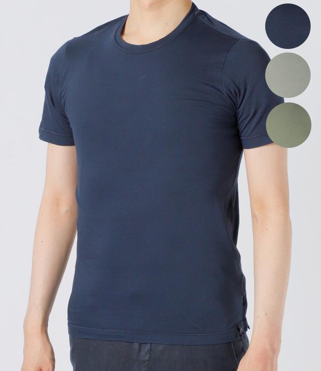 【2019AW SALE】ザノーネ/ZANONE Tシャツ メンズ クルーネックTシャツ 812103-ZY387-Z1577【2019AWS】