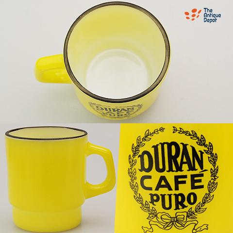 *火大王·广告DURAN CAFE PURO黄色黑色轮圈 □