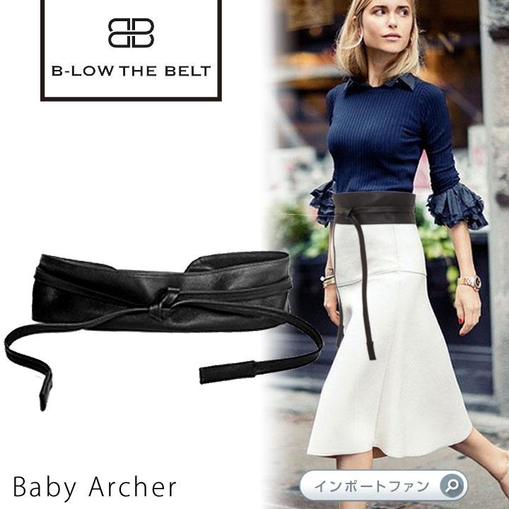 サッシュベルト Baby Archer B-low the belt ビーローザベルト セレブ ファッション 本革 レザー 【あす楽】 □