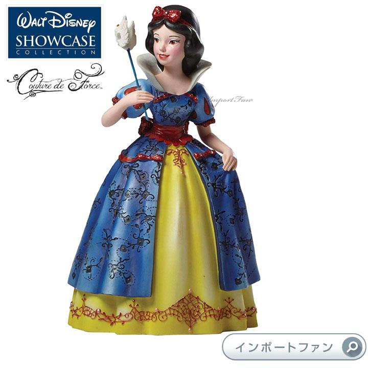 ディズニー ショーケース コレクション クチュール デ フォース プリンセス白雪姫 白雪姫 ディズニー 4046625 Disney Masquerade Snow White Couture de Force Figurine by Enesco Disney Showcase Couture de Force □