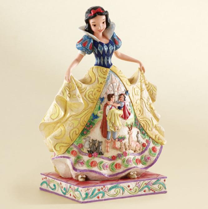 ジムショア 白雪姫と王子様 最高に美しい終結 白雪姫 ディズニー 4007992 Fairy Tale Endings For The Fairest Of Them All-Snow White Figurine JimShore 【ポイント最大43倍!お買物マラソン】