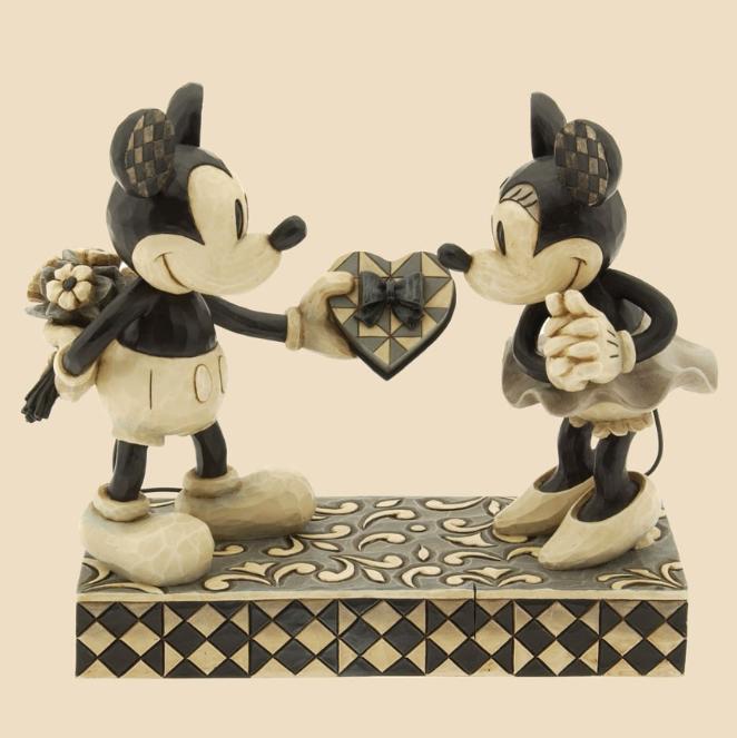 ジムショア ミッキーとミニー 本当の恋人 結婚祝いにおすすめ ディズニー 4009260 Real Sweetheart-Mickey And Minnie Mouse Figurine JimShore 【ポイント最大43倍!お買物マラソン】