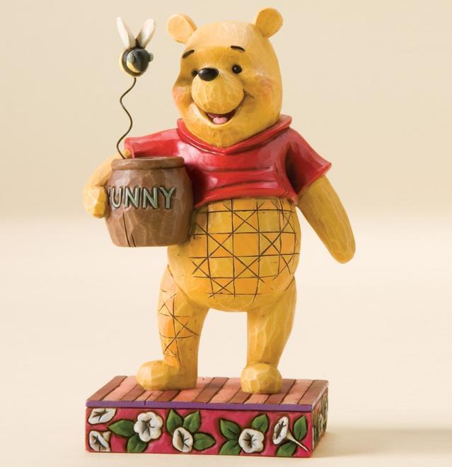 ジムショア くまのプーさん おバカな年老いたくまさん ディズニー 4010024 Silly Old Bear-Winnie The Pooh Personality Pose Figurine JimShore 【ポイント最大43倍!お買物マラソン】