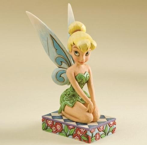 ジムショア ティンカ―ベル 楽しみな妖精 ピーターパン ディズニー 4011754 A Pixie Delight-Tinker Bell Personality Pose Figurine JimShore【ポイント最大43倍!スーパー セール】