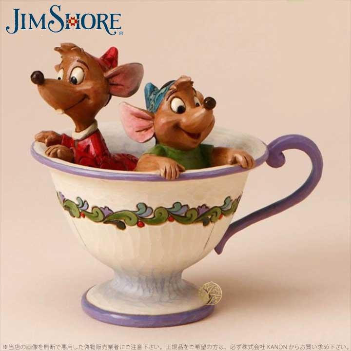 ジムショア ジャックとガンズ シンデレラ ディズニー 4016557 Jaq and Gus in Tea Cup JimShore 【ポイント最大43倍!お買物マラソン】