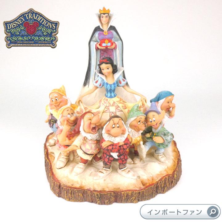 ジムショア 白雪姫と七人の小人と魔女 白雪姫 ディズニー 4023573 The One That Started Them All-Wood Carved Snow White JimShore 【ポイント最大43倍!お買物マラソン】