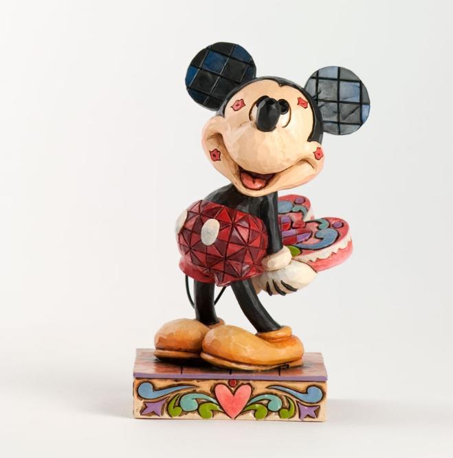 ジムショア ミッキーマウス 愛に心をうたれた ディズニー 4031477 Love Struck-Mickey Mouse Figurine JimShore 【ポイント最大43倍!お買物マラソン】