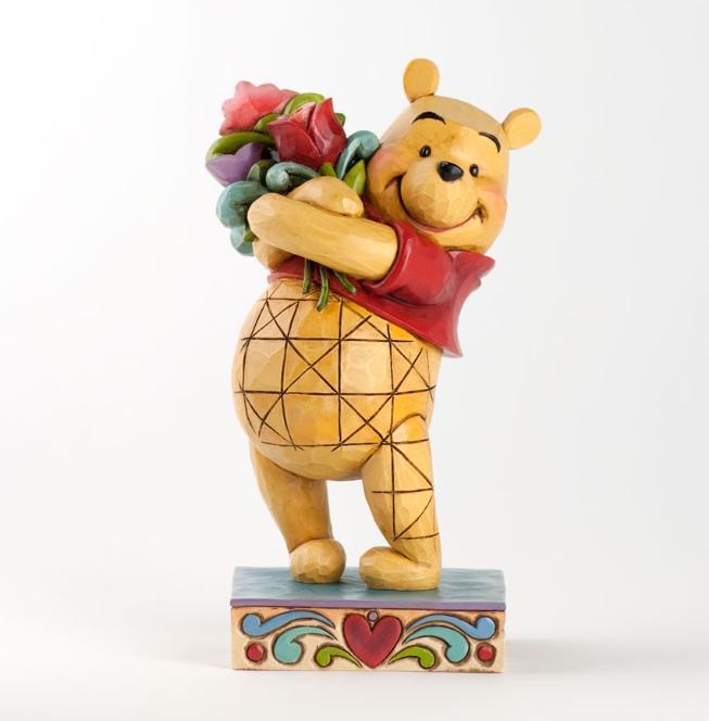 ジムショア プーさんと花束 友情の花束 くまのプーさん ディズニー 4031479 Friendship Bouquet-Winnie The Pooh With Flowers Figurine JimShore 【ポイント最大43倍!お買物マラソン】