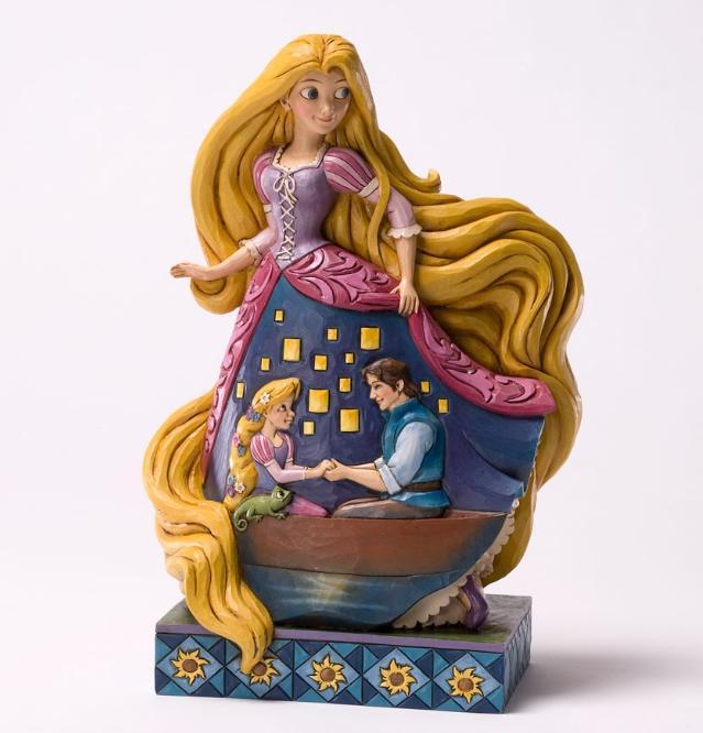 ジムショア ラプンツェルとフリン 教えられた愛 結婚祝いにおすすめ 塔の上のラプンツェル ディズニー 4031485 Enlightened Love-Rapunzel From Tangled Figurine JimShore 【ポイント最大43倍!お買物マラソン】