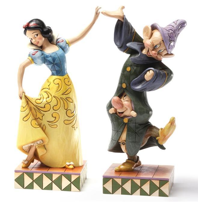 ジムショア 白雪姫とドーピーとスヌージー ダンスのお相手 白雪姫と7人の小人 ディズニー 4031494 Dancing Partners-Snow White, Dopey And Sneezy Figurine JimShore 【ポイント最大42倍!お買物マラソン】