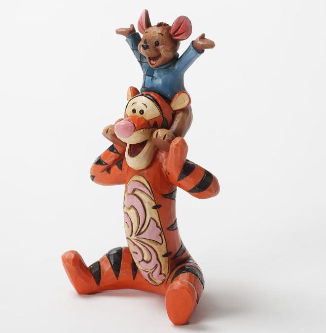 ジムショア ティガ―とルー 最高の友達 くまのプーさん ディズニー 4032859 Bestest Pals-Tigger And Roo Personality Pose Figurine JimShore 【ポイント最大43倍!お買物マラソン】