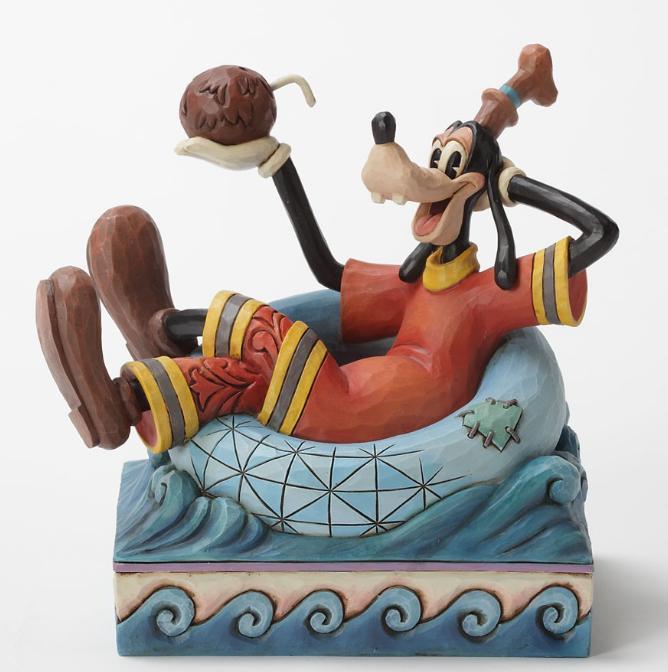 ジムショア グーフィー 風変わりな逃走 ミッキーの仲間たち ディズニー 4032887 Exotic Get-Away-Goofy Figurine JimShore 【ポイント最大43倍!お買物マラソン】