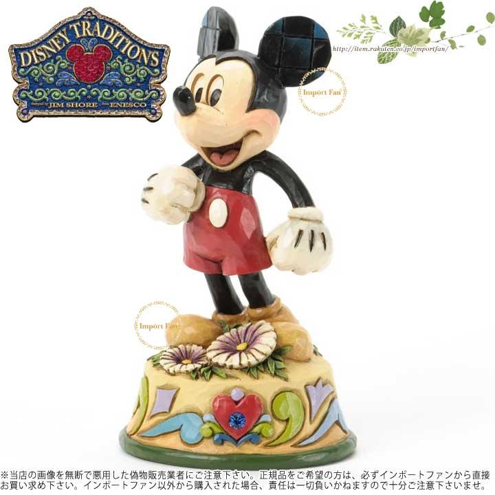 ディズニー JimShore 4033966 Figurine 誕生日祝いにおすすめ Mickey 9月 September 【ポイント最大43倍!お買物マラソン】 ジムショア ミッキーマウス Mouse