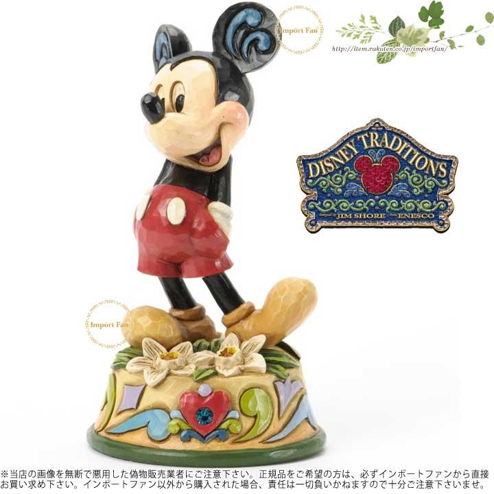 ジムショア 12月 ミッキーマウス ディズニー 誕生日祝いにおすすめ 4033969 December Mickey Mouse Figurine JimShore □