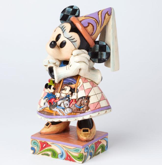 ジムショア ミニーマウス それからずっと幸せに ディズニー 4038497 Happily Ever After-Princess Minnie Mouse Royal Gown Figurine JimShore □