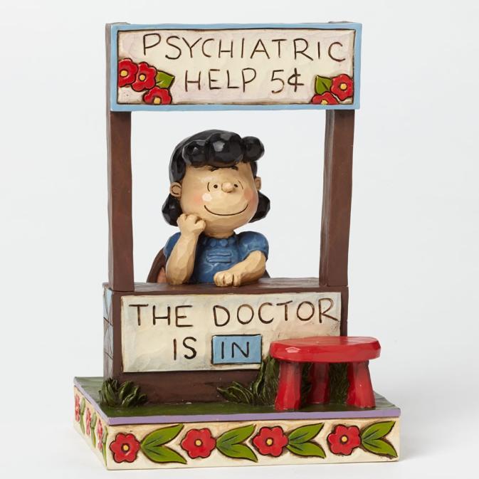 ジムショア ルーシー 医者は中にいます スヌーピー 4042386 The Doctor Is In-Lucy Figurine JimShore □