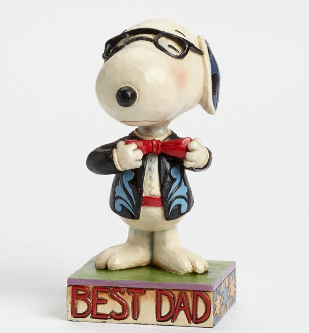 ジムショア スヌーピー 一番のお父さん 父の日におすすめ 4043615 Best Dad-Snoopy Figurine JimShore □