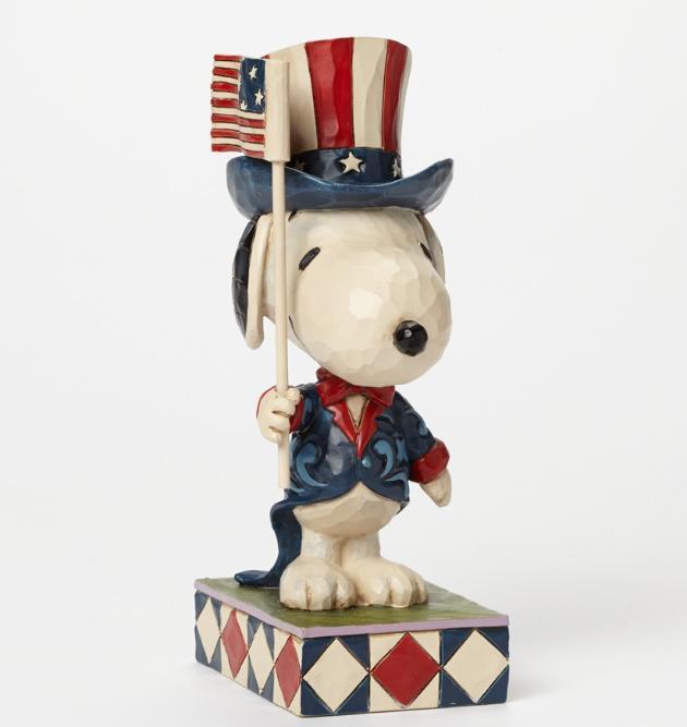 ジムショア スヌーピー アメリカ国旗 愛国者  4043617 Patriot-Patriotic Snoopy Figurine JimShore 【ポイント最大43倍!お買物マラソン】