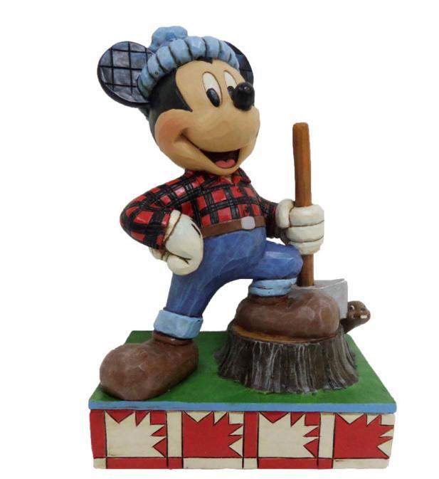 ジムショア ミッキーマウス カナダからの挨拶 ディズニー 4043631 Greetings From Canada-Mickey Mouse In Canada Figurine JimShore 【ポイント最大43倍!お買い物マラソン セール】