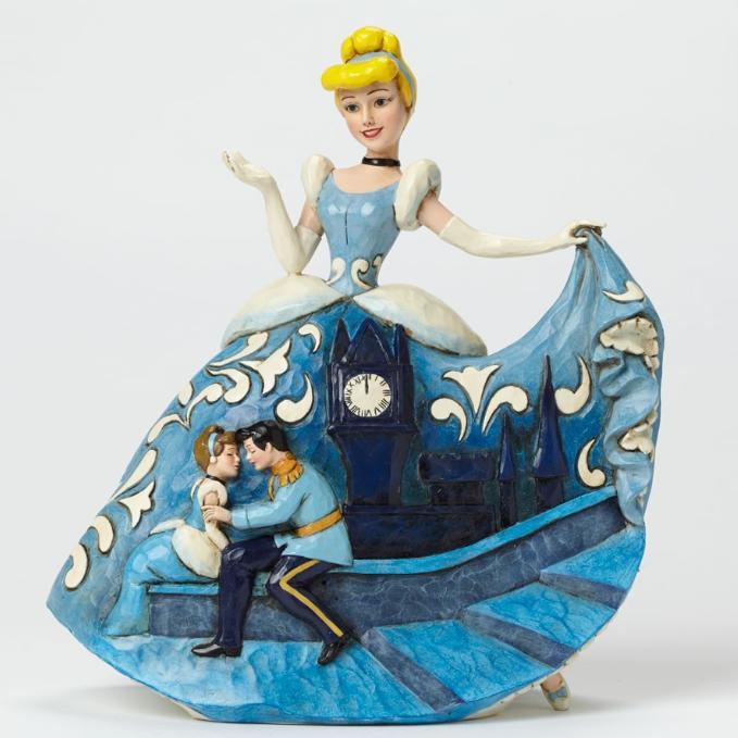 ジムショア シンデレラと王子様 おとぎ話の結末 65周年記念作品 シンデレラ ディズニー 4043645 Fairytale Ending-Cinderella 65th Anniversary Figurine JimShore□