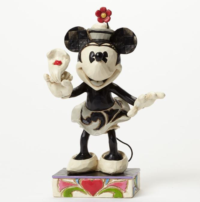 ジムショア ミニーマウス ヨーホー ディズニー 4043666 Yoo-hoo-Minnie Mouse Figurine JimShore 【ポイント最大43倍!お買物マラソン】